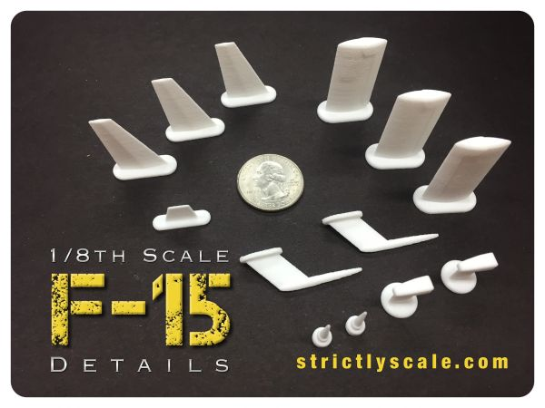 F-15 Scale Detail Parts Set - 1/8 Scale