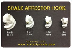 Arrestor Hook Parts - 1/6 Scale