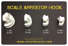 Arrestor Hook Parts - 1/7 Scale