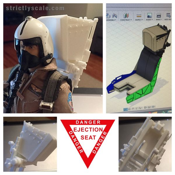 Martin Baker Ejection Seat - 1/7 Scale