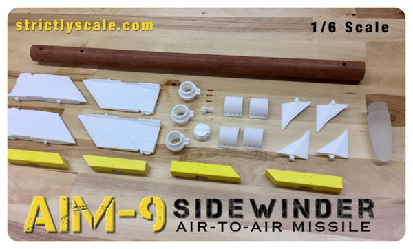 AIM-9 Scale Sidewinder - 1/6 Scale