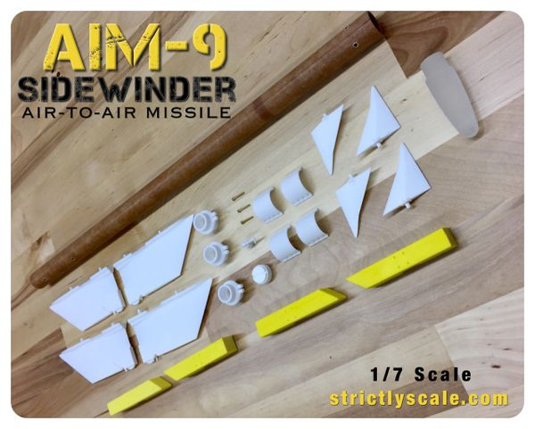 AIM-9 Scale Sidewinder - 1/7 Scale