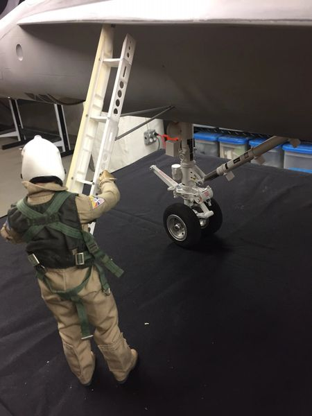 1/7 Scale Retractable Boarding Ladder - F18 Hornet