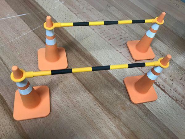Scale Traffic Cone - 1/6 scale