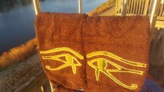 Camo Eye of Heru Hand Towel Set
