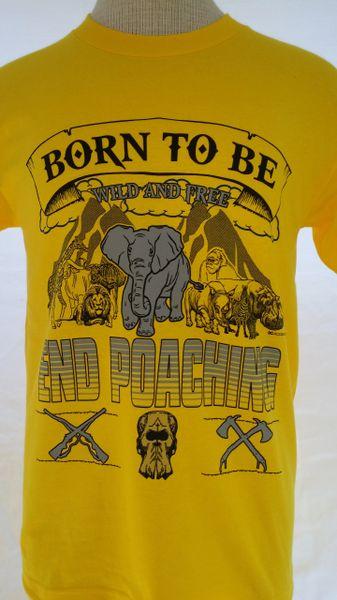 Yellow-Men's Tee Wild And Free