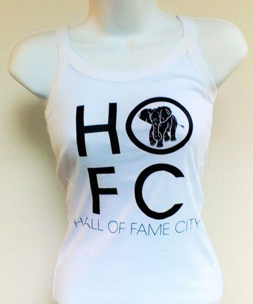 Women's White Hall Of Fame City Tank