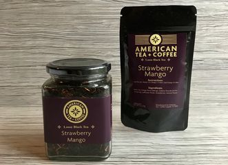 Strawberry Mango Black Loose Leaf Tea