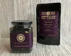 Toasted Almond Black Loose Leaf Tea