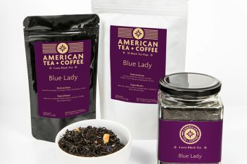 Blue Lady Black Loose Leaf Tea
