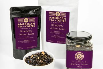 Blueberry Lemon Mint Black Loose Leaf Tea
