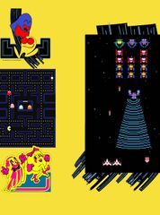 20th anniversary Pac Man / Galaga Front Kickplate art