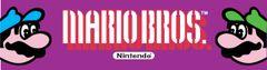 Mario Bros Marquee