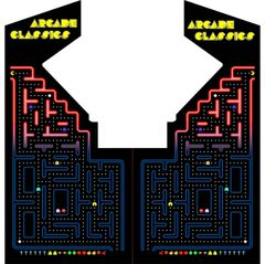 Multicade Pac Maze Side Art Set