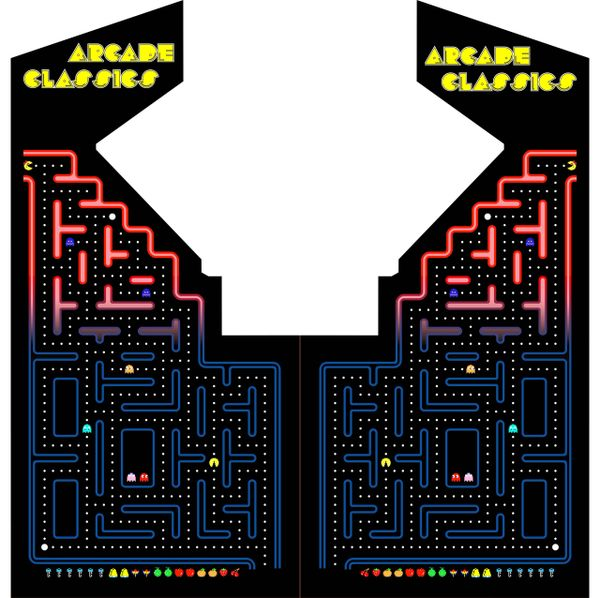 Multicade Pac Maze Side Art Set