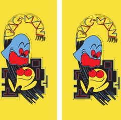 Pac Man Side Art Set 2 pcs.