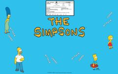 The Simpsons 4 player CPO