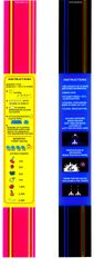 Ms Pac Man / Galaga Bezel 25th Anniversary Instuction Card Strips