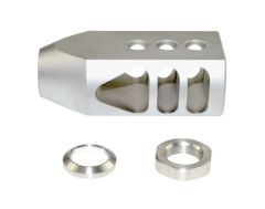 "1/2""x28 Muzzle Brake for AR-15, Stainless steel"