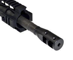 "1/2""x28 Muzzle Brake for AR-15, Steel, Black"