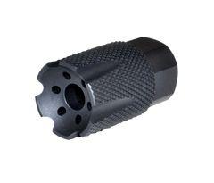 "1/2""x28 Muzzle Brake for AR-15, Aluminum, Black"