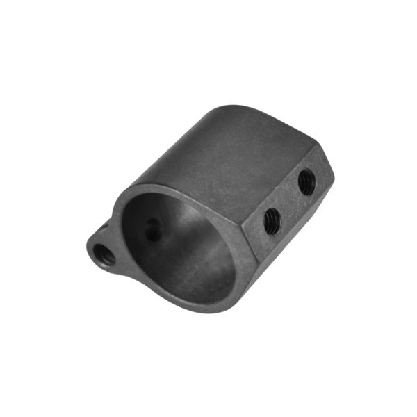 "0.875"" Low Profile Gas Block, 0.875"" ID, Steel"