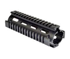 """AR 308 2pc Drop In Handguard Carbine Length - 308 DMPS Low Profile / LR-308 2pc 6.7"""" 6061-T6 Aluminum"""