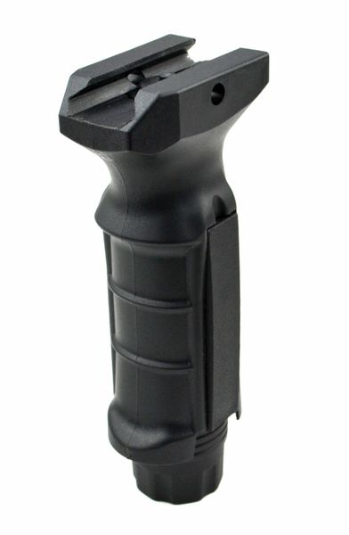 AR15 Foregrip Grip, Fixed Vertical, Polymer - Black (GP04)