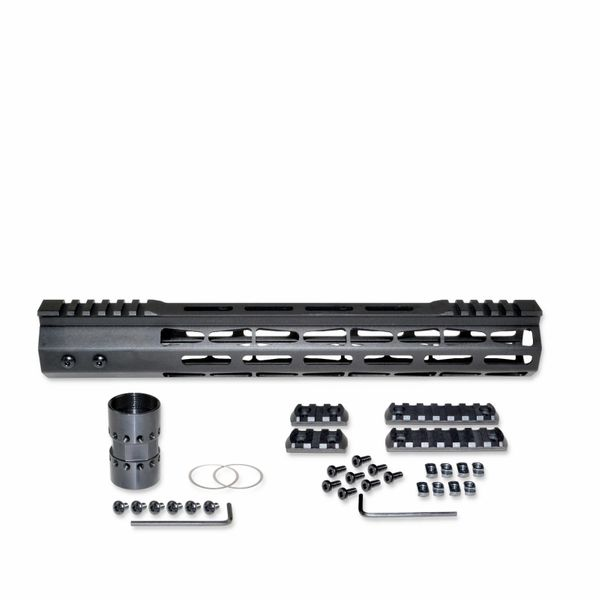 "13"" .308 M-LOK Free Float Handguard for AR 308 LR-308 DPMS LOW, I.D. 1.59"""