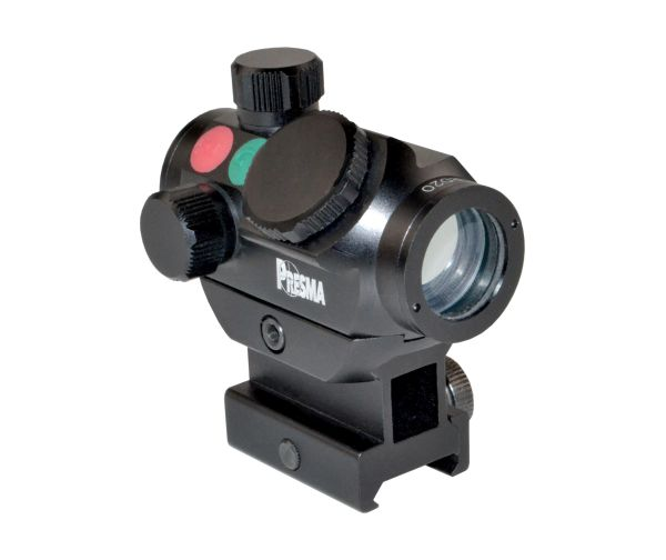 Presma Red Green Dot Compact Rail Mounted 3.5 MOA, Fully Multi-Coated + Clear