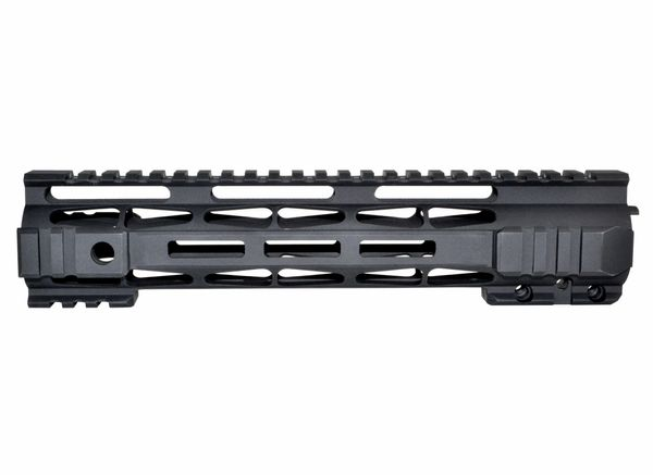 "10"" Presma LR-308 .308 DPMS LOW Profile - M-LOK Free Float Handguard Rail Mount with Steel Barrel Nut"