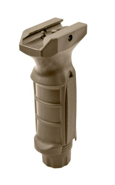 AR15 Foregrip Grip, Fixed Vertical, Polymer - Tan (GP04-T)