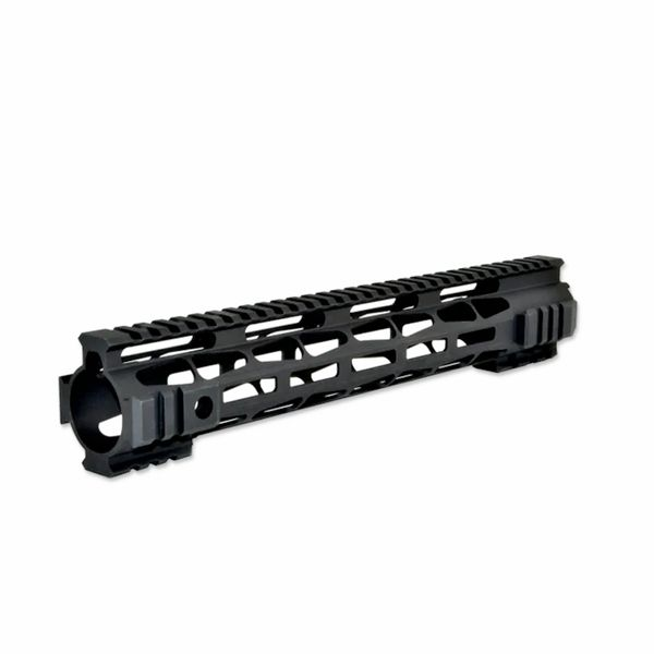 "12.5"" Presma LR-308 .308 DPMS LOW Profile - M-LOK Free Float Handguard Rail Mount with Steel Barrel Nut"