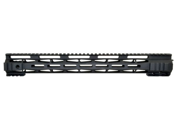 "16.5"" Presma LR-308 .308 DPMS LOW Profile - M-LOK Free Float Handguard Rail Mount with Steel Barrel Nut"