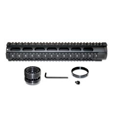 "12.5"" Free Float Quad Rail Handguard Forend for .223 / 5.56 AR-15 - Picatinny"