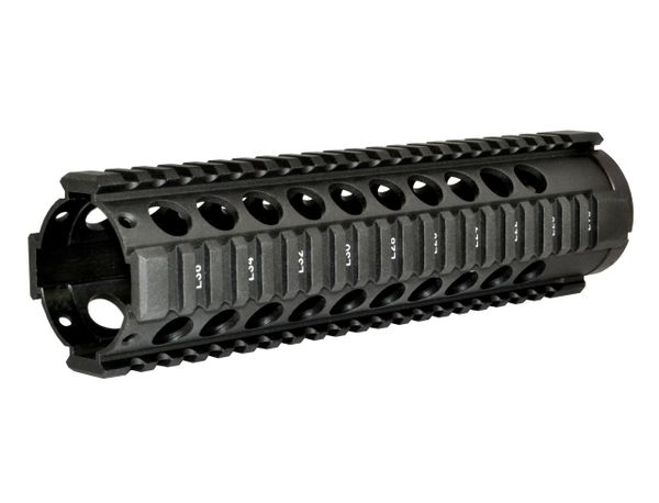 "9"" Free Float Quad Rail Handguard Forend for .223 / 5.56 AR-15 - Picatinny"