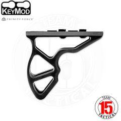 Trinity Force KEYMOD Siege Grip Lightweight Hand Stop - Aluminum Black (WBA01B)