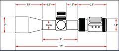 Presma SP Solar Powered Series 2-12X44 Precision Scope, OGB RXR Glass Reticle