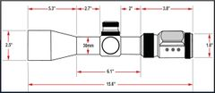 Presma SP Solar Powered Series 6-36X56SFL Precision Scope, OGB RXR Glass Reticle