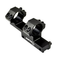 Sniper 1 IN Scope Mount with Integral Cantilever Rings for Dovetail for .22