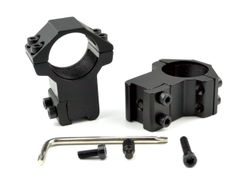 "1"" 1 INCH Dovetail High Profile Scope Rings, Aluminum"