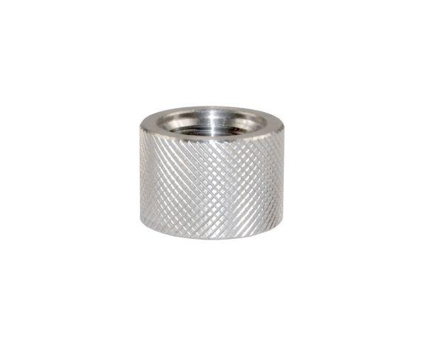 AR-10 LR .308 Barrel Thread Protector Nut for 5/8 INx24 Muzzle Threading, Stainless Steel