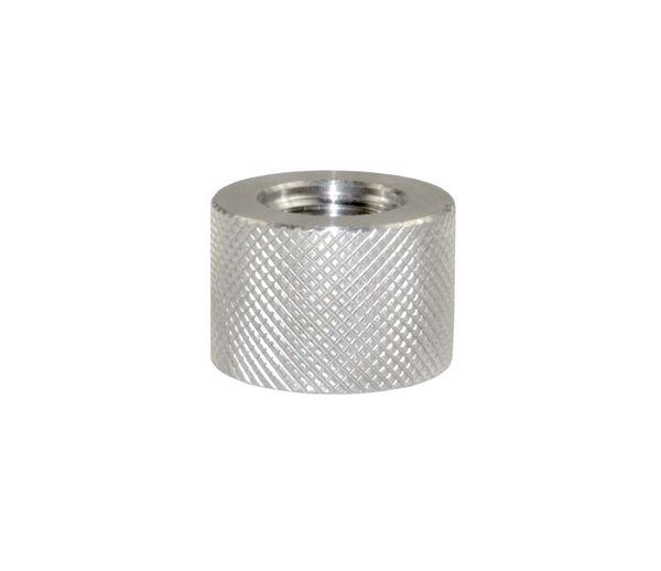 AR-15 BULL Barrel Thread Protector Nut for 1/2 INx28 Muzzle Threading, Stainless Steel
