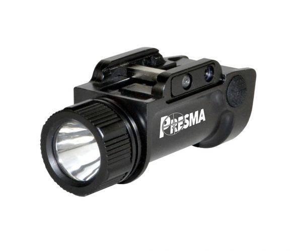 Presma Pistol / Handgun Tactical Light (1000 Lumens, Rail-Mounted, Rechargeable)