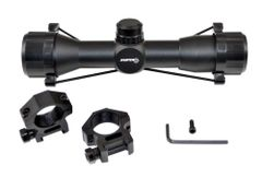 Sniper 4X32M Compact Scope, RGB MIL-DOT