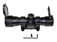 Sniper Tactical 1x35 Red Dot Green Dot Sight With Mount + Co-Witness Riser