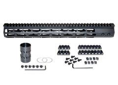 "15"" Presma AR-10 LR 308 Super Light M-LOK Series Free Float Handguards, 15 IN DPMS Low Profile"