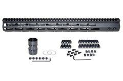 "17"" Presma AR-10 LR 308 Super Light M-LOK Series Free Float Handguards, 17 IN DPMS Low Profile"