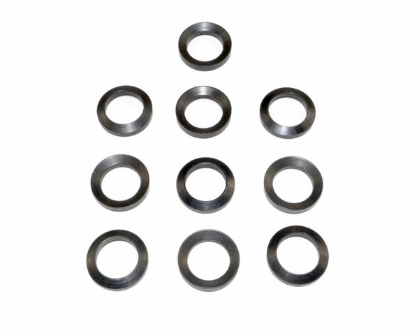 "1/2"" Black Steel Crush Washer Set for AR-15* 10 PACK *"