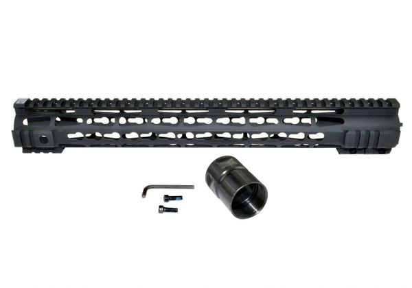 "16.5"" Presma AR-15 Jackal Series Super Slim Free Float Handguards, 16.5 IN"
